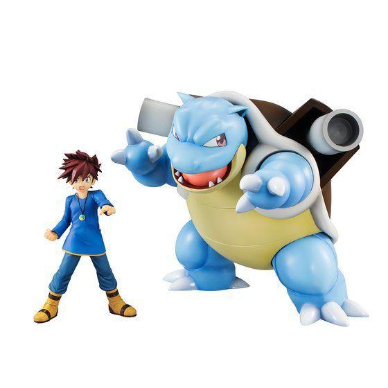 [Exclusivo] Gary & Blastoise Pokémon G.E.M. Series Megahouse original