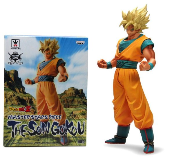 Goku Super Saiyajin Dragon Ball Z Master Stars Piece Banpresto Original