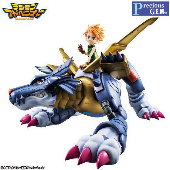 Matt & MetalGarurumon Digimon Adventure Precious G.E.M. Megahouse Original