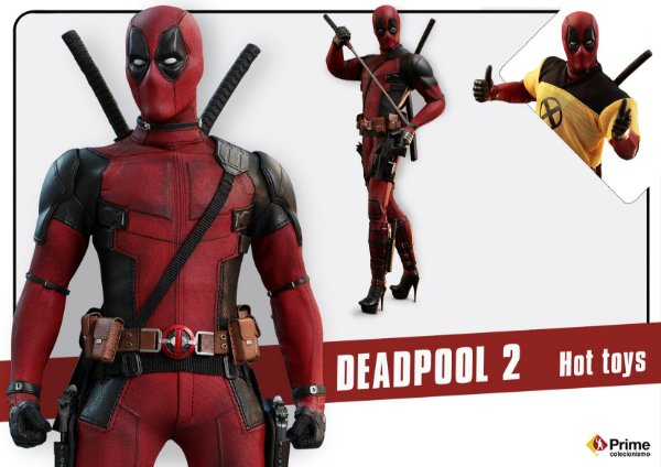Deadpool 2 Movie Masterpieces Hot Toys Original