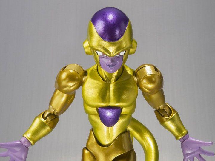 Freeza Dourado Dragon Ball Z Ressurreição de Freeza S.H.Figuarts Bandai Original