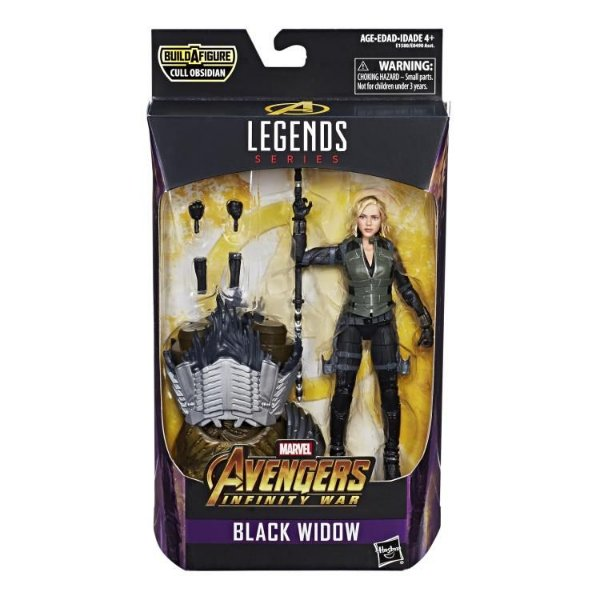 Viuva Negra Vingadores Guerra Infinita Marvel Legends Wave 2 Hasbro Original