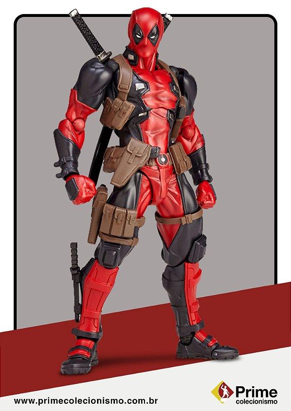 Deadpool Figure Complex Amazing Yamaguchi No.001 Revoltech Kaiyodo Original