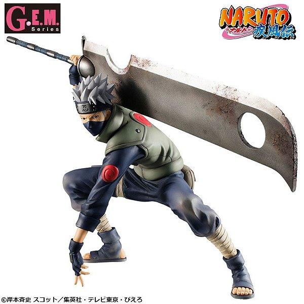 Kakashi Hatake Shinobi World War ver. Naruto Shippuden G.E.M. Series Megahouse Original