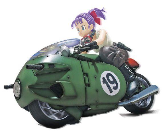 Bulma Bike Plastic Model Transformable No.19 Dragon Ball Figure rise Mechanics Bandai original