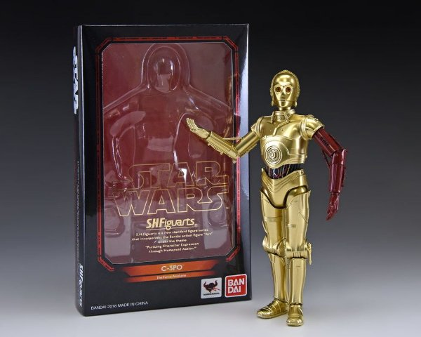 [EXCLUSIVO SDCC 2018] C-3PO Star Wars O despertar da força S.H. Figuarts Bandai Original