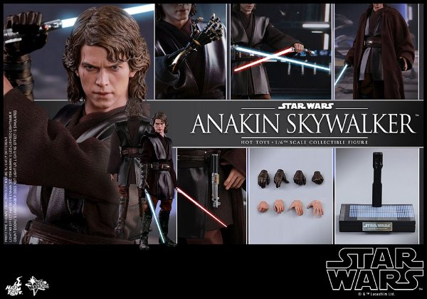 Anakin Skywalker Star Wars Episode III Revenge of Sith Hot toys Original