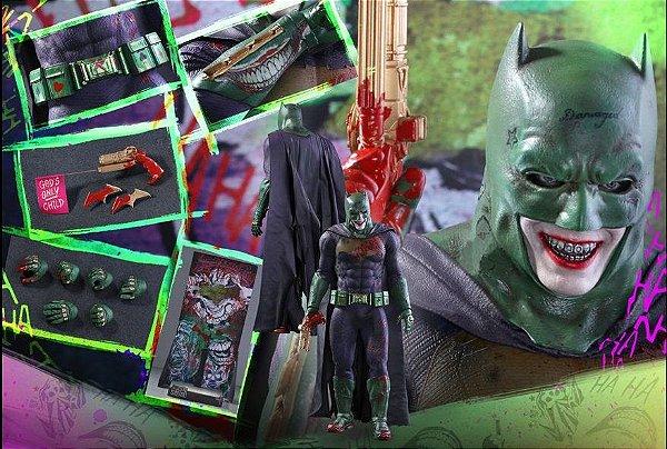 Batman The Joker Imposter Version Esquadrão Suicida Movie masterpieces Hot Toys Original