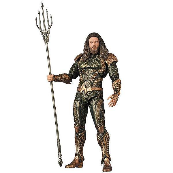 Aquaman Liga da Justiça MAFEX No.061 Medicom Toy Original