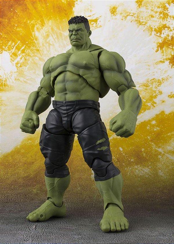Hulk Vingadores Guerra infinita Marvel S.H. Figuarts Bandai Original