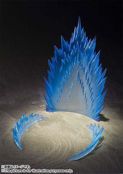 Efeito Aura de energia Versão Azul Tamashii Effect Bandai Original