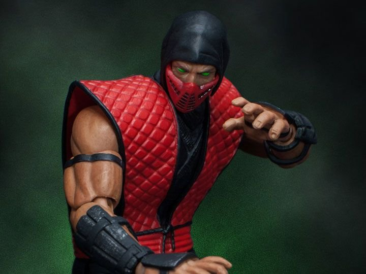 [Exclusivo SDCC 2018] Ermac Mortal Kombat Storm Collectibles Original