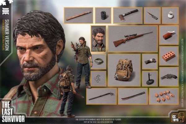 Joel Summer version The Last of Us 1/6 CC Toys