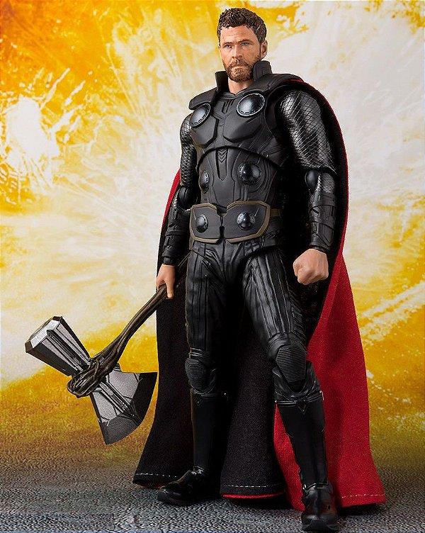 Thor Vingadores Guerra Infinita Marvel S.H. Figuarts Bandai Original