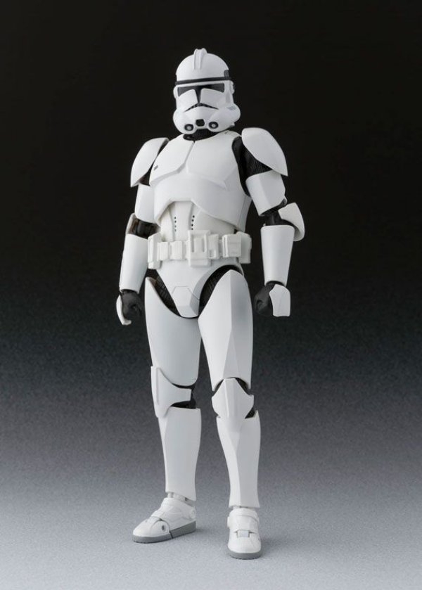 Clone Trooper Phase II Star Wars S.H. Figuarts Bandai Original