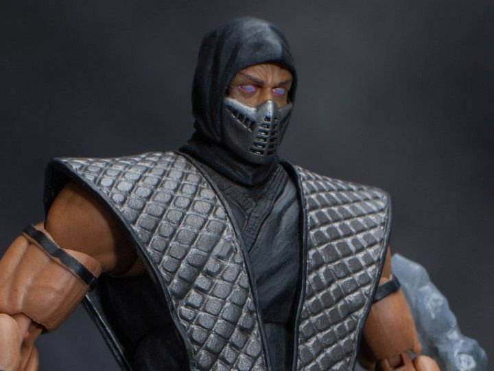 [EXCLUSIVO NYCC 2018] Smoke Mortal kombat Storm Collectibles Original
