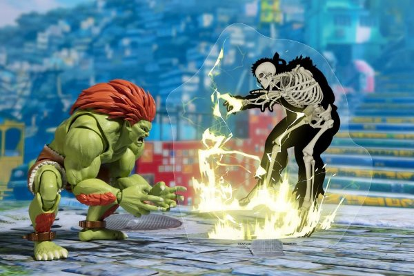 Blanka Arcade Edition Street Fighter V S. H. Figuarts Bandai Original