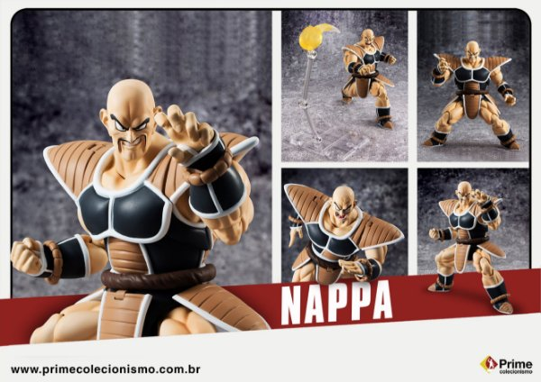 Nappa Dragon Ball Z S.H. Figuarts Bandai Original