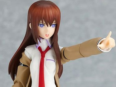 Makise Kurisu Steins;Gate Figma Max Factory Original