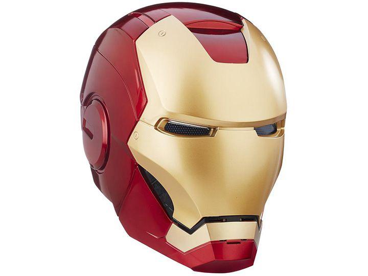 Capacete eletrônico Homem de Ferro Marvel Legends Original