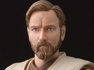 Obi-Wan Kenobi Star wars Vingança dos Sith S.H. Figuarts Bandai Original