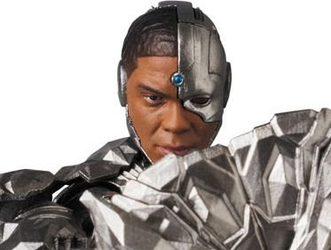 Cyborg Liga da Justiça MAFEX No.063 Medicom Toy Original