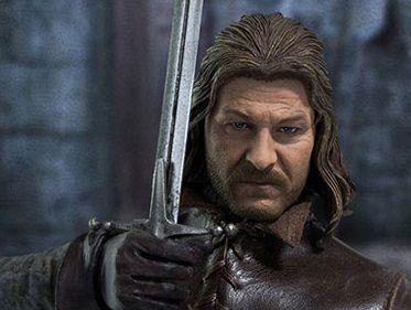 Eddard Stark Game of Thrones Threezero escala 1/6 original