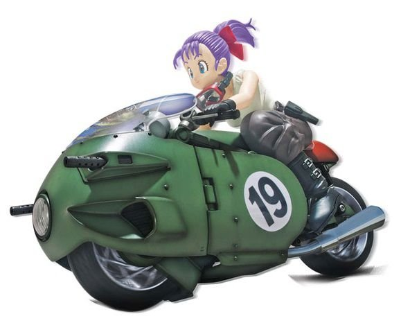 Bulma Bike Plastic Model Transformable No.19 Dragon Ball Figure rise Mechanics Bandai original