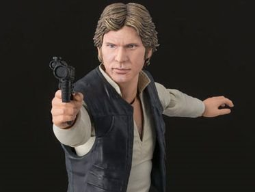 Han Solo Star Wars Uma nova esperança S.H. Figuarts Bandai Original