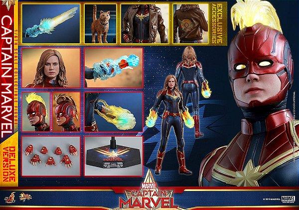Capitã Marvel Marvel Comics Movie Masterpieces Hot Toys Original