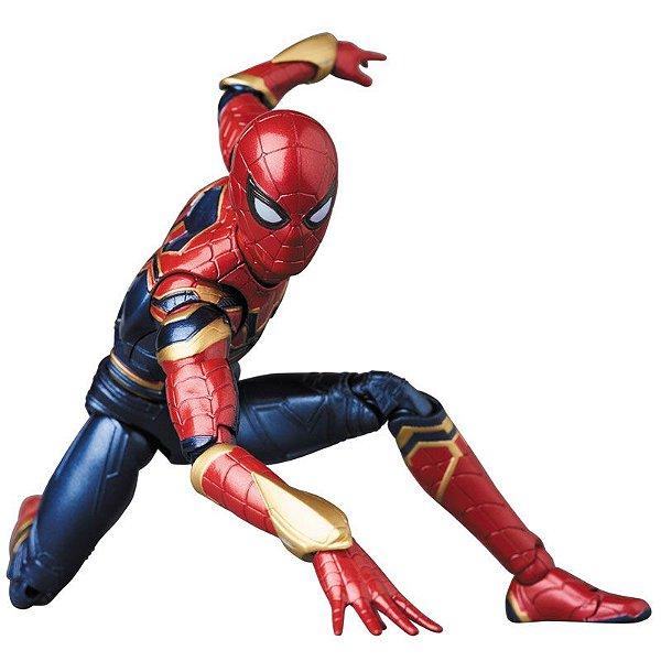 Homem Aranha de Ferro Vingadores Guerra infinita MAFEX No.081 Medicom Toy Original