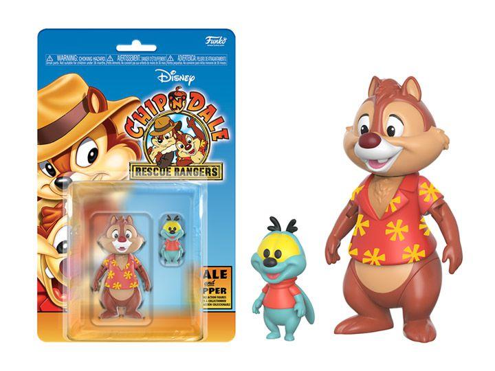Teco e Zipper Tico e Teco Defensores da lei Disney Afternoon Collection Funko Original