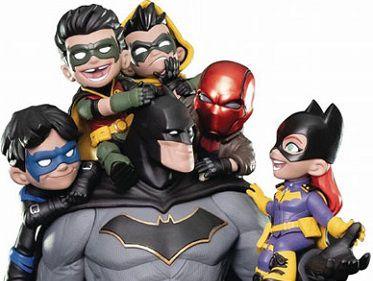 Familia Batman DC Comics Q-Master Quantum Mechanix Original