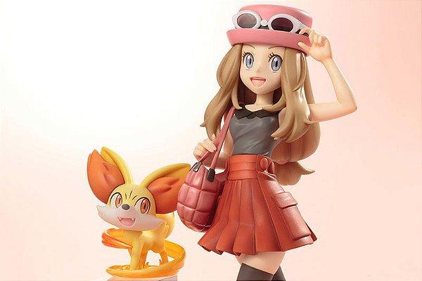 Serene e Fennekin Pokemon XY Artfx j Kotobukiya Original