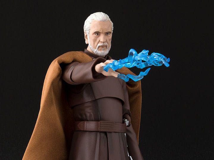 Count Dooku Star Wars Episodio III A Vingança dos Sith S.H. Figuarts Bandai Original