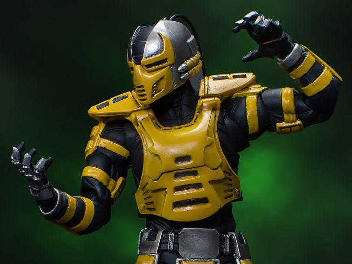 Cyrax Mortal kombat Storm Collectibles Original