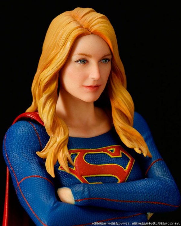 Supergirl Artfx + Kotobukiya Original