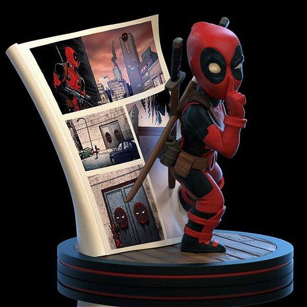 Deadpool Marvel Comics Q-Fig Quantum Mechanix Original