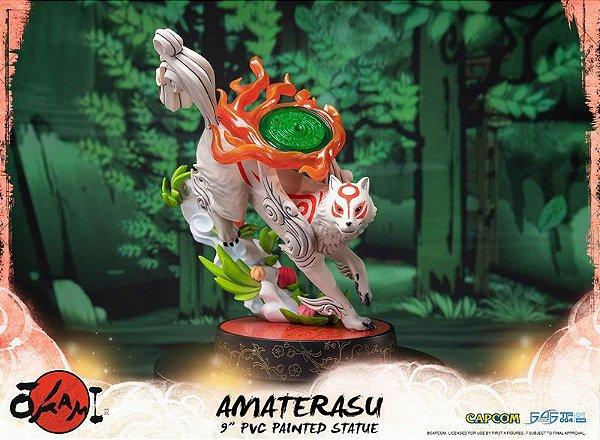 Amaterasu Okami First 4 Figures Original