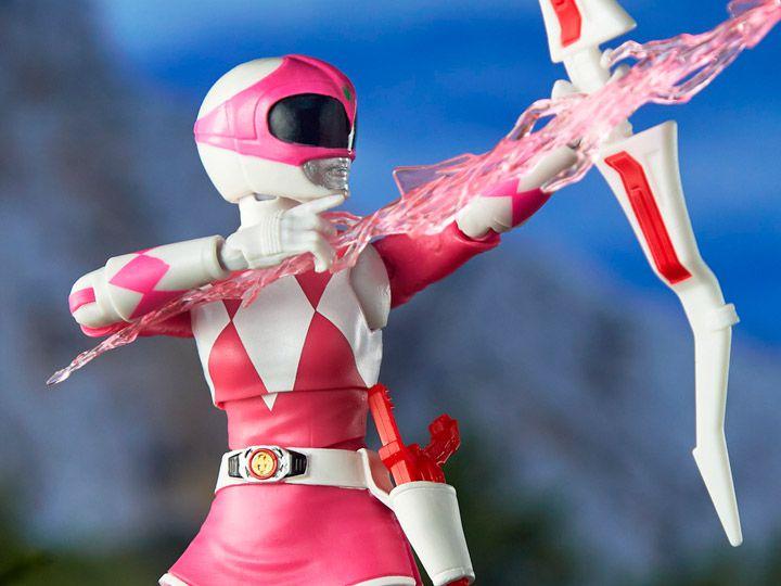 Kimberly Ranger Rosa Power Rangers Mighty Morphin Lightning Collection Hasbro Original