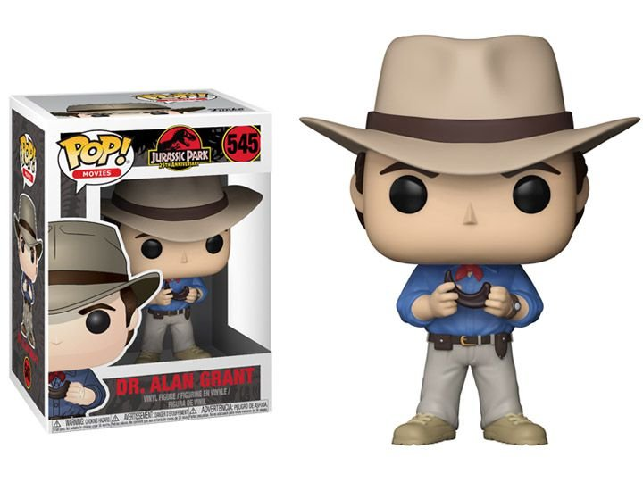Dr. Alan Grant Jurassic Park Pop! Movies Funko original