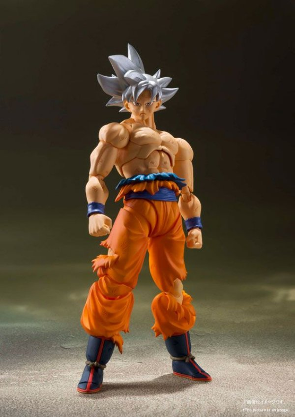 Son Goku Ultra Instinto Dragon Ball Super S.H. Figuarts Bandai Original