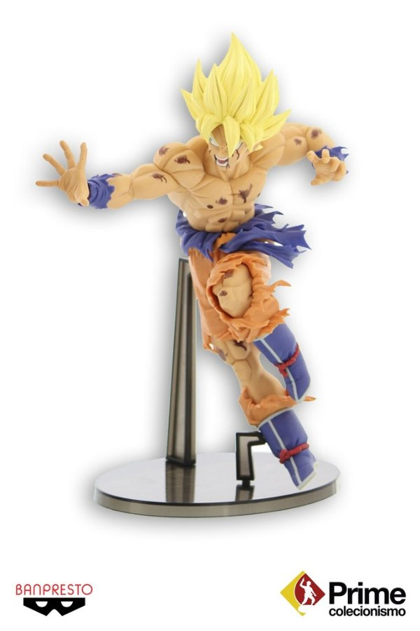 Goku Super Sayajin Dragon Ball Z Scultures 5 Banpresto Original