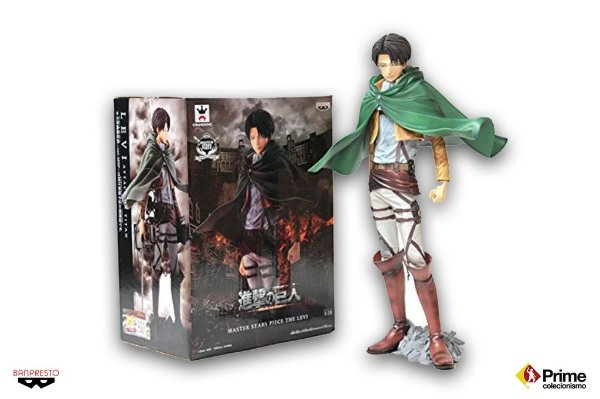 Levi Attack on Titan Master Stars Piece Banpresto Original 25cm