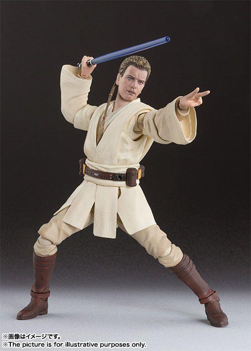 Obi-Wan Kenobi Star Wars Episódio I S.H. Figuarts Bandai Original