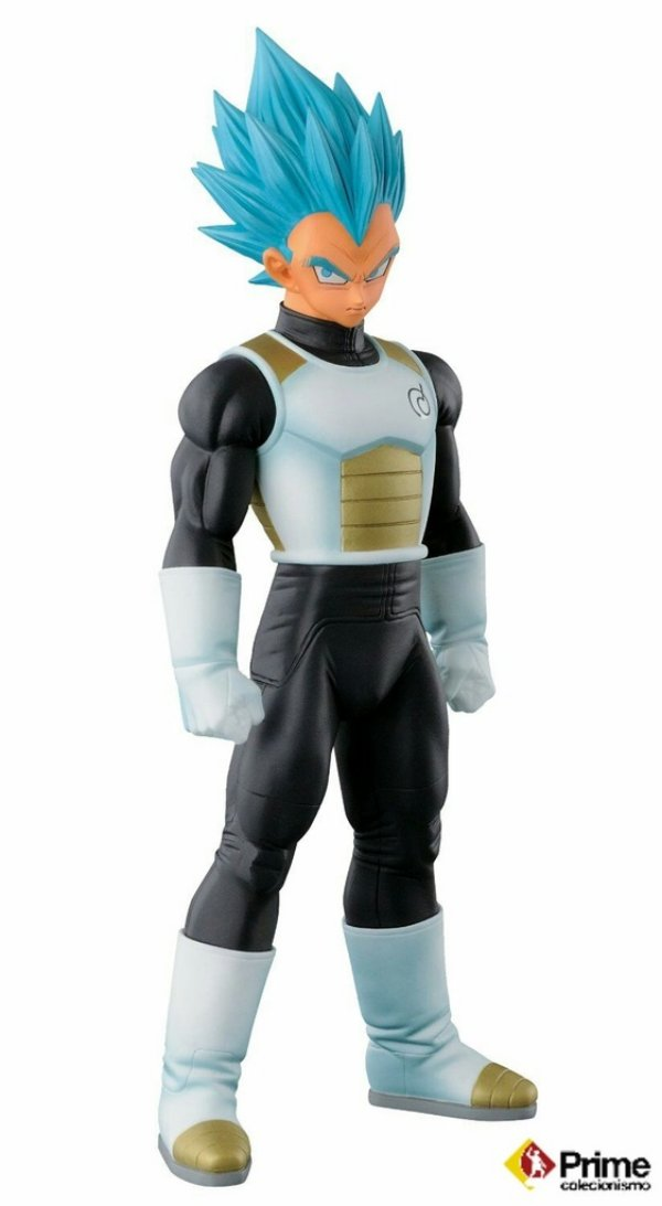 Vegeta Super Sayajin God Dragon Ball Master Stars Piece Banpresto Original