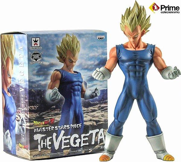 Vegeta Super Sayajin Dragon Ball Master Stars Piece Banpresto Original