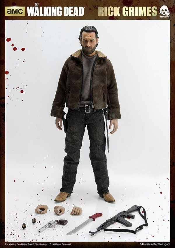 [ENCOMENDA] Rick Grimes The Walking Dead ThreeZero Original