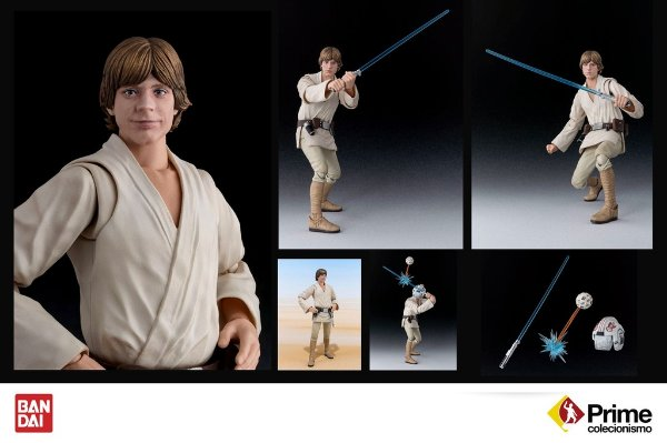 Luke Skywalker S.H. Figuarts Bandai Star Wars A New Hope Original