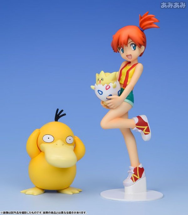 Misty & Togepi & Psyduck Pokemon G.E.M. Series Megahouse original